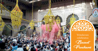 Vrindavan Springs into Festivities
