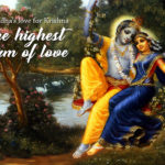 Is Radha's love for Krishna the highest form of love?